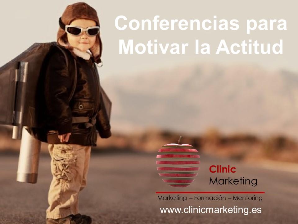 Conferencias para motivar la actitud