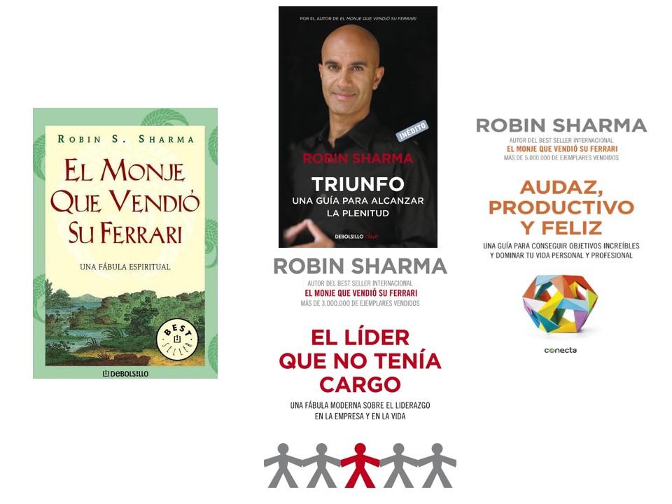 Libros de Robin Shama